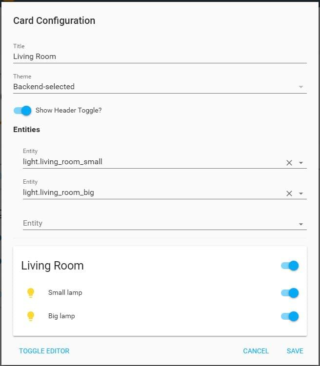 Home Assistant - Smart Life components | rmsol de